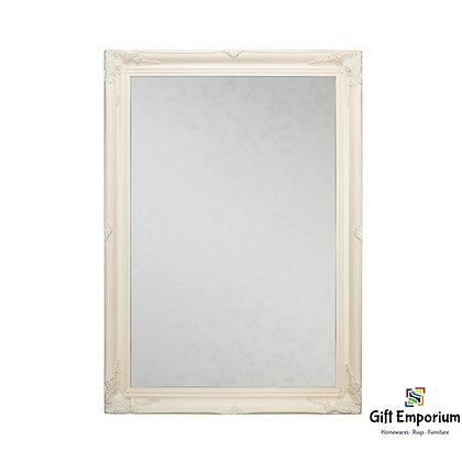 Lyon mirror 60 x 90cm in cream