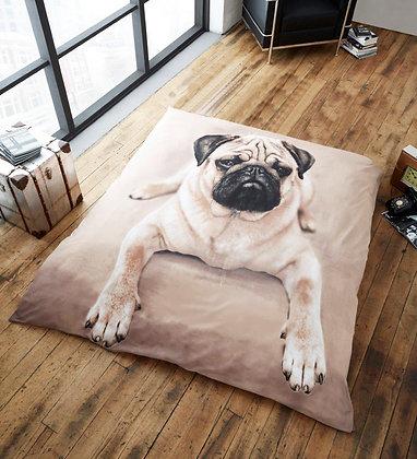 Cute Pug Blanket