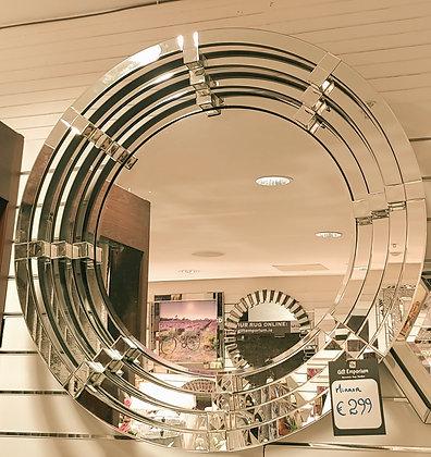 3D Round Designer Mirror