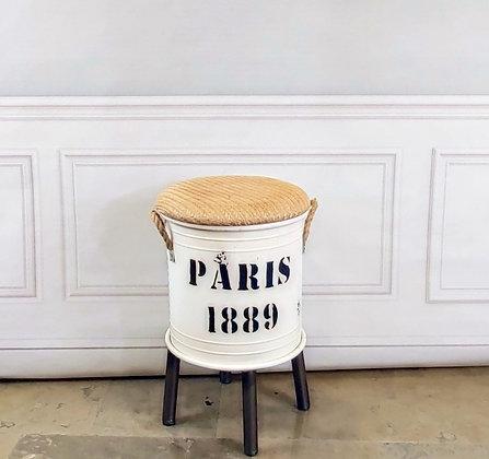 Paris Foot Stool with Storage