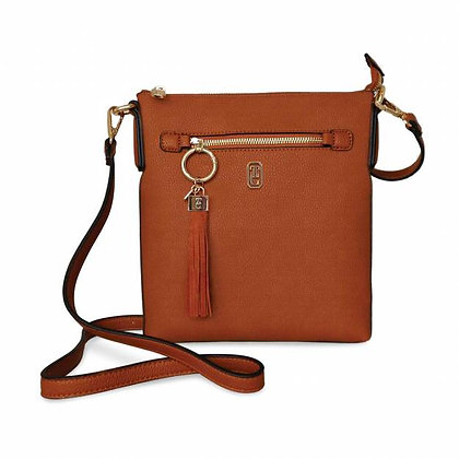 The Chelsea Cross Body Pouch Tan