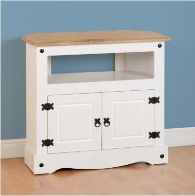 TV Cabinet in White