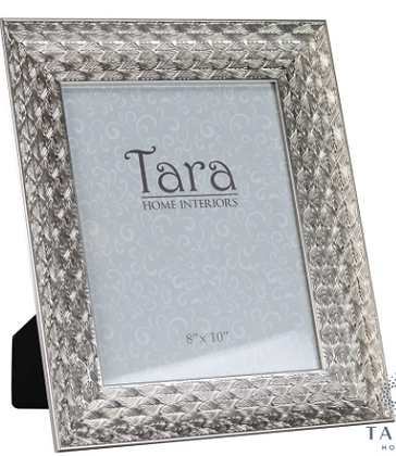 Lavelle photo frame silver 8 x 10