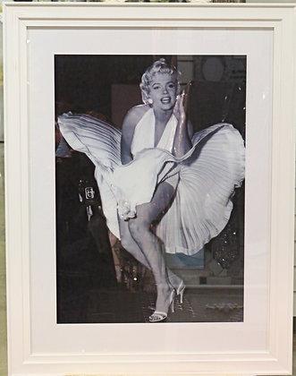Marilyn Monroe White Frame 70*90 cm