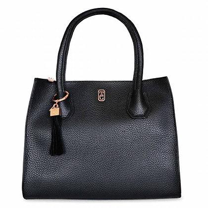 The Shanghai Hand Bag Black