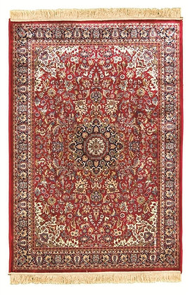 KASHMIR TRADITIONAL RUG - RED 12800