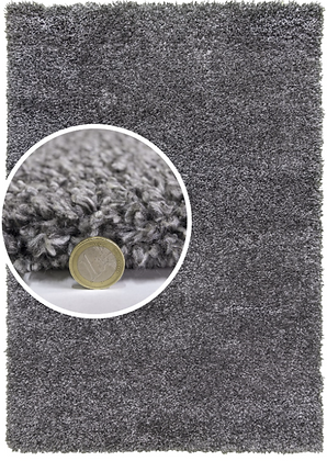 DREAMS SHAGGY Fireside RUG - DARK GREY