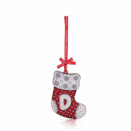 'D' Stocking Decoration
