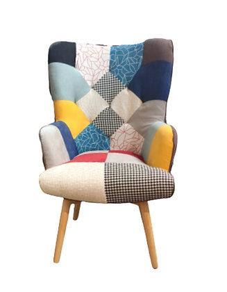 Multi-Print Sofa Chair