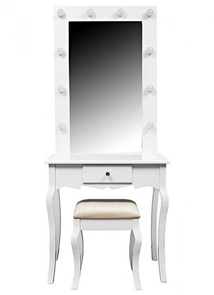 THE GRANGE COLLECTION HOLLYWOOD DRESSING TABLE - 75X40X176