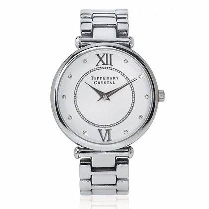 Timeless Silver Watch