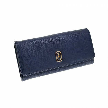 The Clarence Purse - Navy, Large