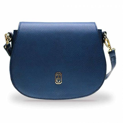 Kensington Navy Saddle Bag