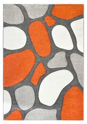 Pebbles Rug-Grey/Terra