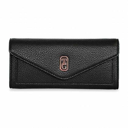 The Envelope Wallet Black