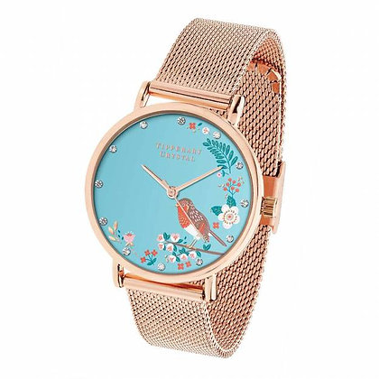 Robin Rose Gold Birdy Watch