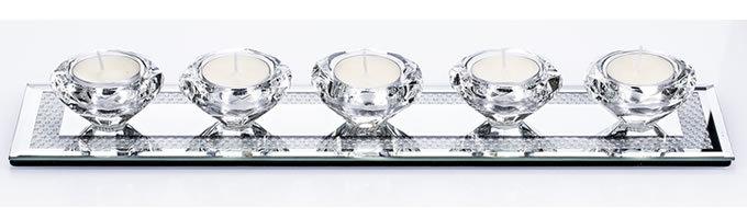 Gemstone Tealight Holder