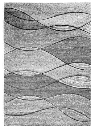 Impulse Waves Rug – Grey