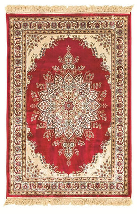KASHMIR TRADITIONAL RUG - RED 12836