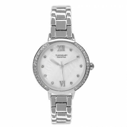 Hollywood Silver Gold Watch