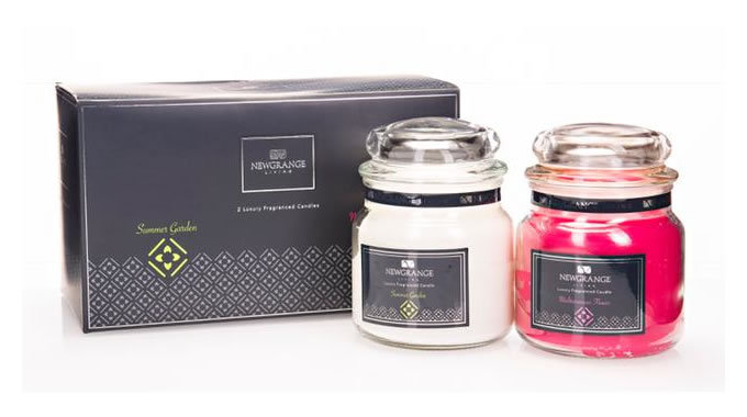 Set of 2 Candle Jars