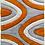 Thumbnail: 3D SHAGGY RUG - MULTI ORANGE