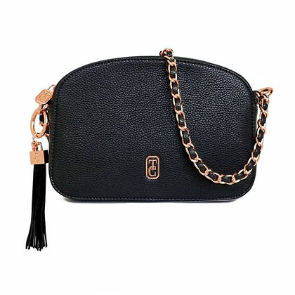The Cannes Shoulder Bag Black