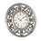 Thumbnail: Antique Silver Clock