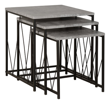 Nest of Tables/ Grey Top