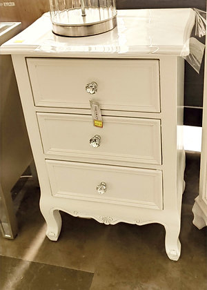 3 Drawer Locker White
