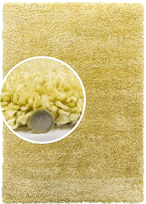 DREAMS SHAGGY fireside RUG - YELLOW