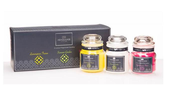 Set of 3 Mini Candle Jars