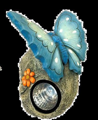 Blue Butterfly/Solar Garden Light
