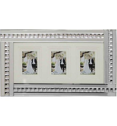 Mirrored Frame 3 Pictures