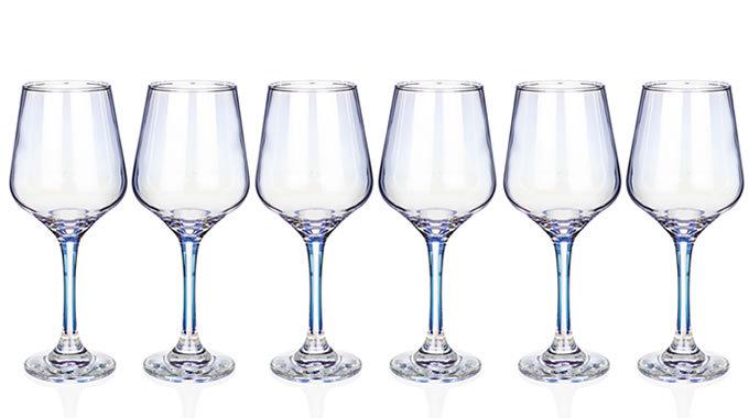 Unicorn Lustre Wine Glasses