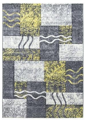 Primo Grey/Yellow Rug