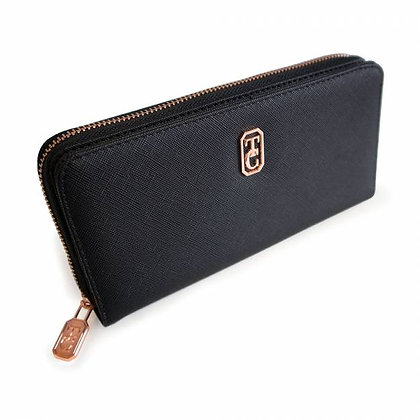 Umbria Black Wallet