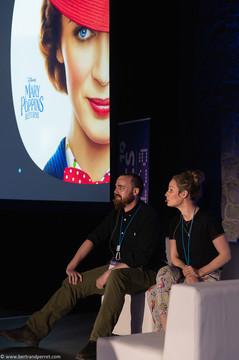 Photographie d'une conférence lors d'un salon