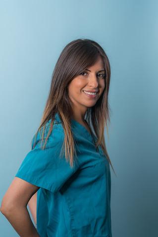portrait professionnel - profession médicale - assistante