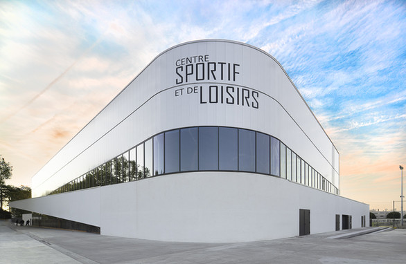 Photographie d'architecture - Pole Sportif Ecully
