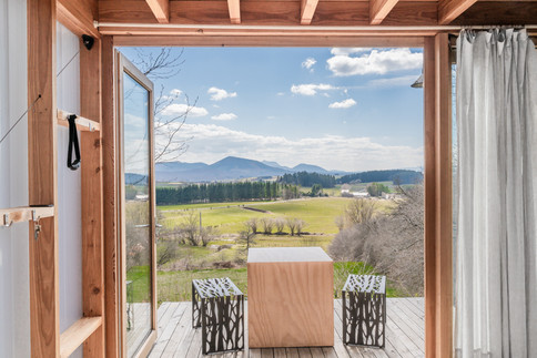 Photographie d'architecture - cabane en bois