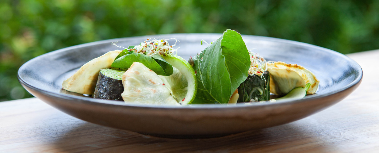 Photographie culinaire - salade