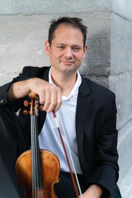 book d'artiste - portrait de violoniste