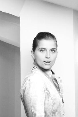 Portrait book d'artiste noir et blanc