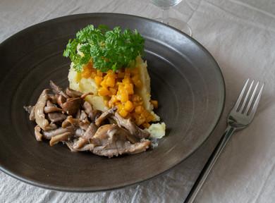Photographie culinaire - assiette forestière