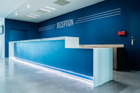 Agence Chabanne Photographie d'architecture - bar - Pole Sportif Ecully