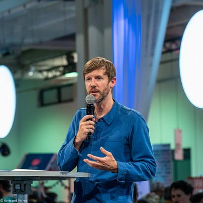 Photographie d'un discours - événement - Festival hublo