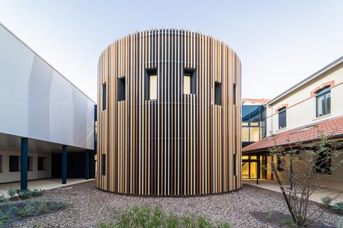 Photographie d'architecture - neurocampus