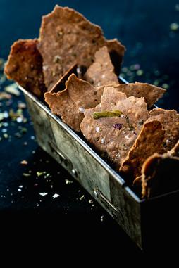 Photographie culinaire - crackers - traiteur