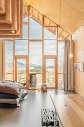 Photographie d'architecture - maison en bois